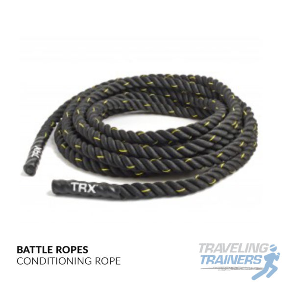 Conditioning Battle Ropes - Traveling Trainers