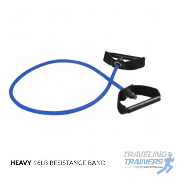 Heavy Resistance Band with Handles - Traveling Trainers