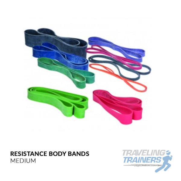 Resistance Body Bands - Traveling Trainers