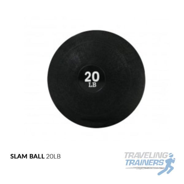 20lb Slam Ball - Traveling Trainers
