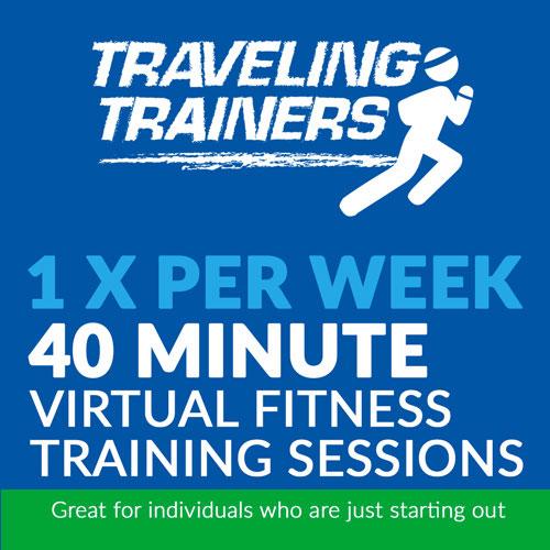1x Per Week 40 Minute Virtual Training