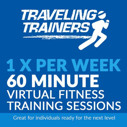 1x Per Week 60 Minute Virtual Training