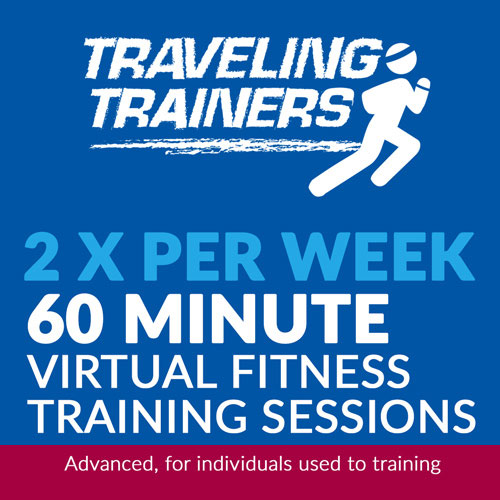 2x Per Week 60 Minute Virtual Training