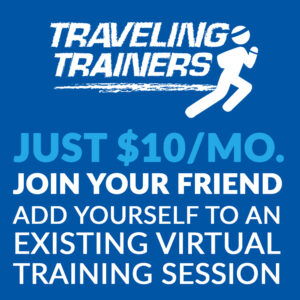 Add Yourself to an Existing Virtual Training Session - Join a Friends Workout